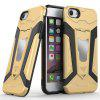 Back Cover Stand Bracket Magnetism Shockproof Phone Case iPhone 7 / 8 - YELLOW