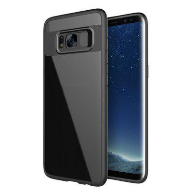 Luxury TPU + Acrylic Transparent Back Cover for Samsung Galaxy S8