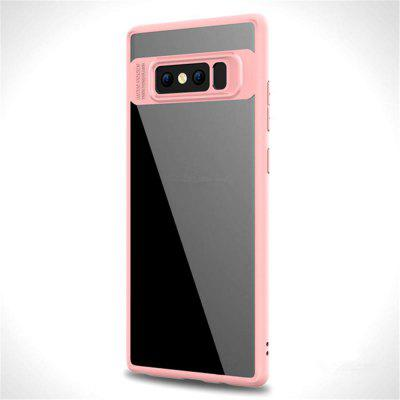 Luxury TPU + Acrylic Transparent Back Cover for Samsung Galaxy Note 8