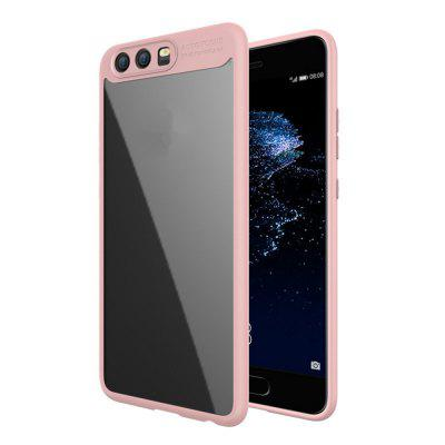 Luxury TPU + Acrylic Transparent Back Cover For Huawei P10
