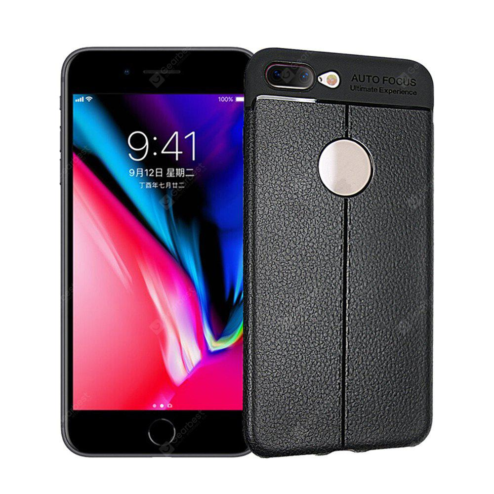 For iPhone 8 Plus Case Cover Shockproof Back Solid Color Soft TPU