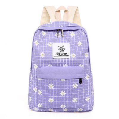 Small Chrysanthemum Backpack Waterproof Bag
