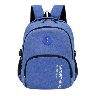 GANJOY Casual College Wind Canvas Light Travel Leisure Bag