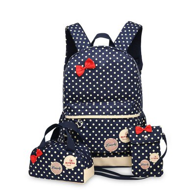 0323 Casual Fresh Backpack Summer Bag 3PCS