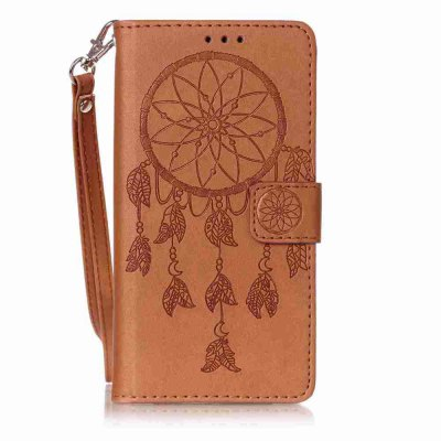 Double Embossed  Dreamcatcher PU TPU Phone Case for HUAWEI P9 Lite