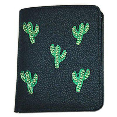 Fashion Embroidery Card Package Luxury Design Ladies Purse