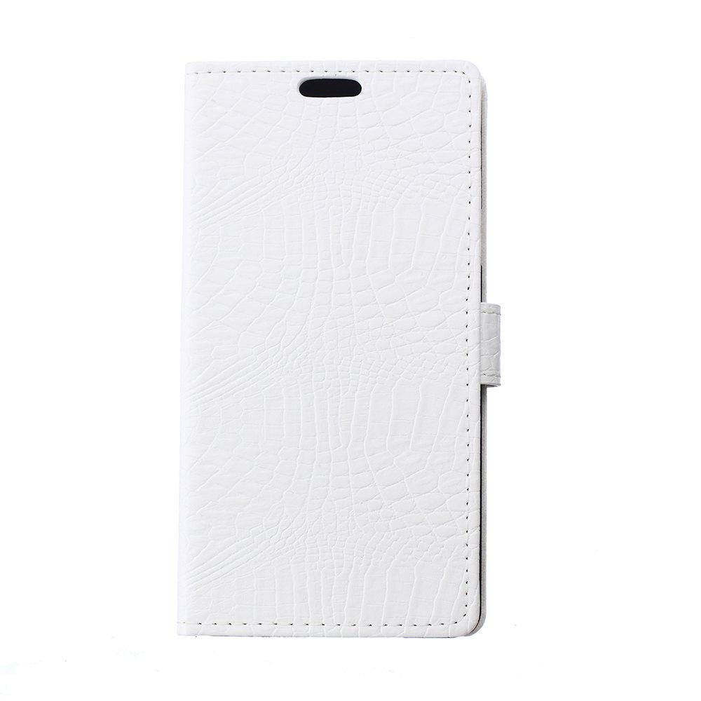 KaZiNe Crocodile Texture Wallet Stand Leather Cover for  LG X SCREEN