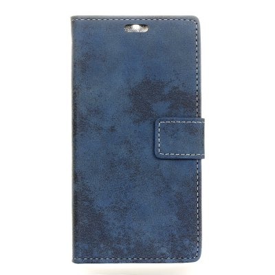 KaZiNe Retro PU Leather Silicon Magnetic Dirt Resistant Phone Case para RedMi 4X