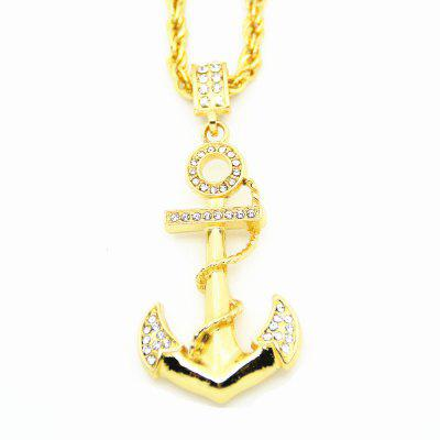 Buy New Seaman Hip Hop Anchor Trendsetter Pendant Necklace, 金色, Watches & Jewelry, Fashion Jewelry, Necklaces & Pendants for $18.29 in GearBest store