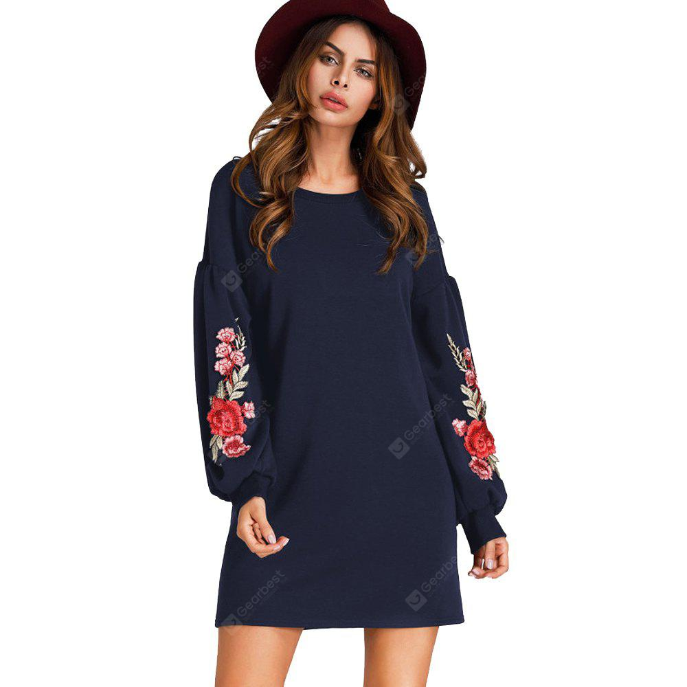 New Long Sleeve Casual Dress