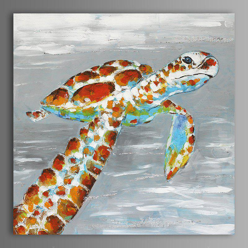 XiangYunChengFeng Abstract Tortoise Home Decor Canvas Oil Painting