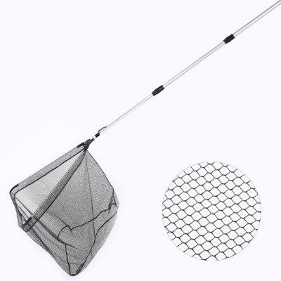 HONOREAL 210CM Ultralight Aluminum Handle Waterproof PE Durable Nano Landing Fish Net