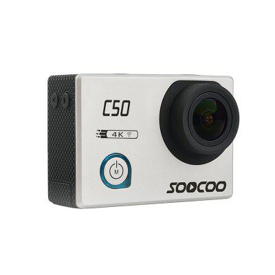 SOCOOO C50 Sports Camera WiFi Gyroscope 4K 24FPS Adjustable Angle NTK96660 30M Waterproof Motion DV