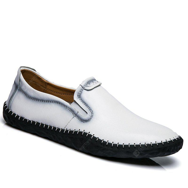 Low Tide All-Match Set Foot Comfort Casual Leather Shoes