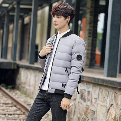 Mens Round Neck Casual CoatMens Jackets &amp; Coats<br>Mens Round Neck Casual Coat<br><br>Closure Type: Zipper<br>Clothes Type: Padded<br>Collar: Round Collar<br>Colors: Black,Gray,Army green<br>Detachable Part: None<br>Fabric Type: Microfiber<br>Hooded: No<br>Lining Material: Cotton,Synthetic<br>Materials: Cotton<br>Package Content: 1 X Coat<br>Package size (L x W x H): 1.00 x 1.00 x 1.00 cm / 0.39 x 0.39 x 0.39 inches<br>Package weight: 0.5000 kg<br>Size1: M,L,XL,4XL,2XL,3XL<br>Sleeve Style: Regular<br>Style: Casual<br>Thickness: Medium thickness