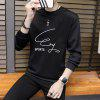 Men's Self-Cultivation Soft Air Sweatshirt - BLACK