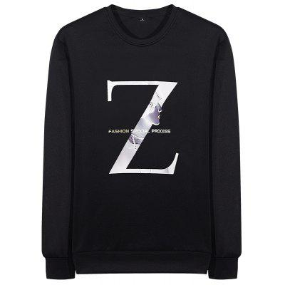 Men's Letters Casual Air Sweatshirt