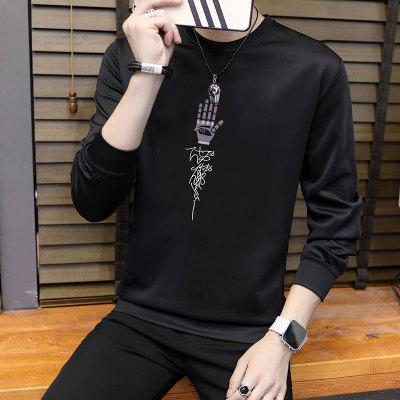 Mens Creative Casual Air SweatshirtMens Hoodies &amp; Sweatshirts<br>Mens Creative Casual Air Sweatshirt<br><br>Material: Microfiber, Spandex<br>Package Contents: 1 X Sweatshirt<br>Shirt Length: Regular<br>Sleeve Length: Full<br>Style: Casual<br>Weight: 0.5000kg