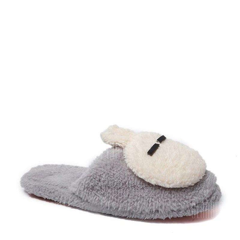 New Cute Soft Bottom Anti Slip Home Cotton Slippers