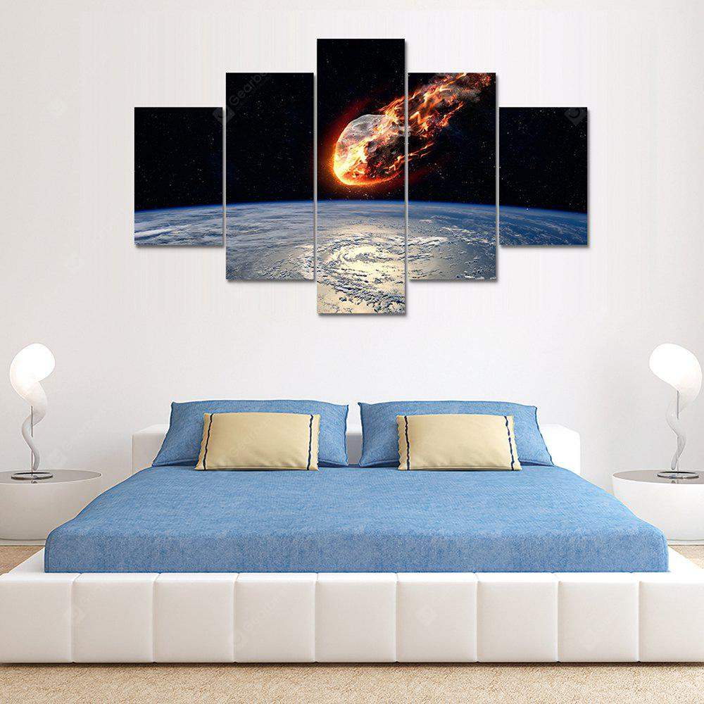 Starry Sky Canvas Print Painting Home Decoration Wall Art Picture 5PCS