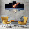 Starry Sky Canvas Print Painting Home Decoration Wall Art Picture 5PCS - COLORMIX