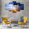 Reef Sea Canvas Print Painting Home Decoration Wall Art Picture 5PCS - COLORMIX