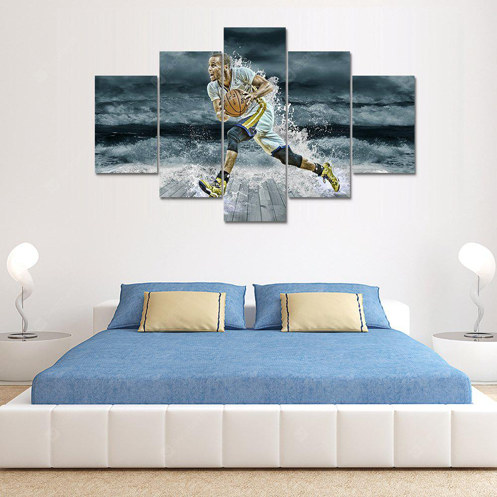 Sport Poster Canvas Print Painting Home Decoration Wall Art Picture 5PCS