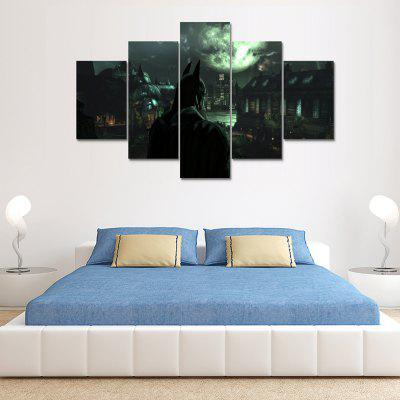 Modern Painting Home Decoration Wall Canvas Print 5PCS