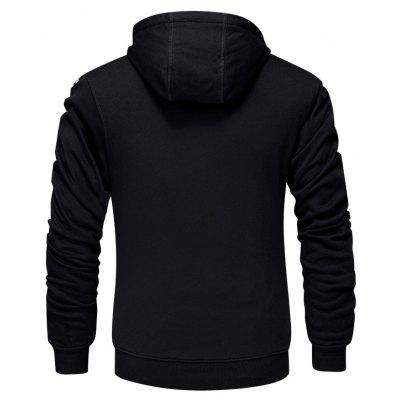 Mens Casual Fashion HoodieMens Hoodies &amp; Sweatshirts<br>Mens Casual Fashion Hoodie<br><br>Material: Cotton, Spandex<br>Package Contents: 1 x Hoodie<br>Shirt Length: Regular<br>Sleeve Length: Full<br>Style: Casual<br>Weight: 0.8000kg