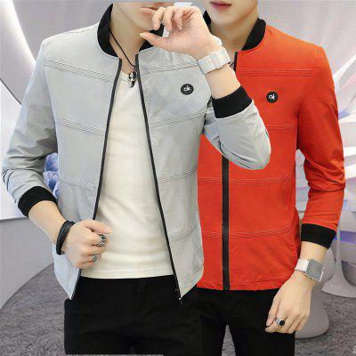 Mens Casual Fashion Collar JacketMens Jackets &amp; Coats<br>Mens Casual Fashion Collar Jacket<br><br>Clothes Type: Jackets<br>Collar: Stand Collar<br>Material: Polyester<br>Package Contents: 1xJacket<br>Season: Spring, Fall, Winter<br>Shirt Length: Regular<br>Sleeve Length: Long Sleeves<br>Style: Casual<br>Weight: 0.6000kg