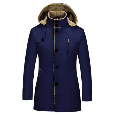 Mens Stylish Slim Warm JacketMens Jackets &amp; Coats<br>Mens Stylish Slim Warm Jacket<br><br>Clothes Type: Long Coat<br>Detachable Part: Hat Detachable<br>Materials: Polyester<br>Package Content: 1xCoat<br>Package size (L x W x H): 1.00 x 1.00 x 1.00 cm / 0.39 x 0.39 x 0.39 inches<br>Package weight: 1.2000 kg<br>Size1: M,L,XL,2XL,3XL