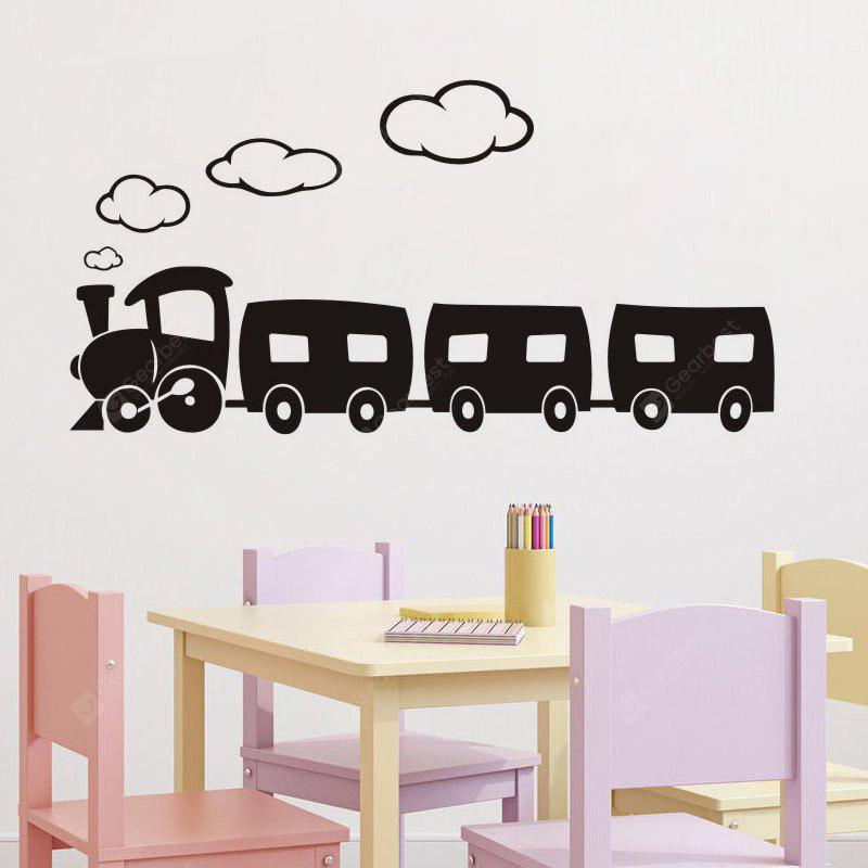 DSU Train Home Decoration Wall Decals Living Room Decorative Stickers