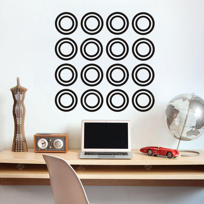 DSU DIY Circle Wall Stickers Home Decor Living Room