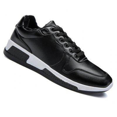 High Quality Genuine Leather Sport Fashion Warm Cotton Suede Flat Shoes