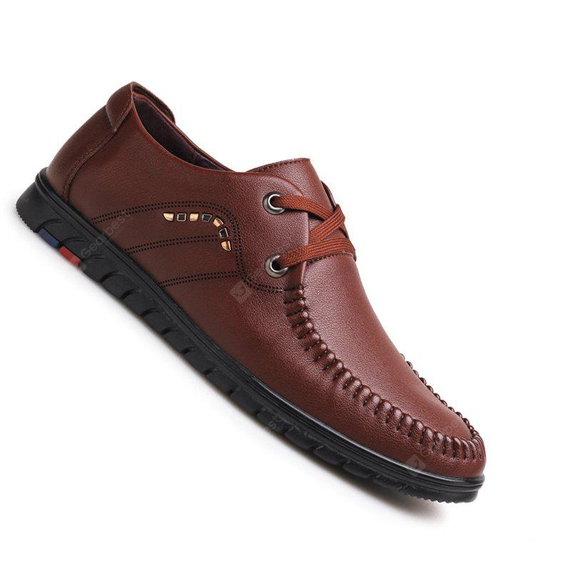 New Design High Quality Genuine Leather Business Fashion Warm Shoes