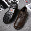 Men New Design High Quality Genuine Leather Business Fashion Ankle Shoes - WINE RED
