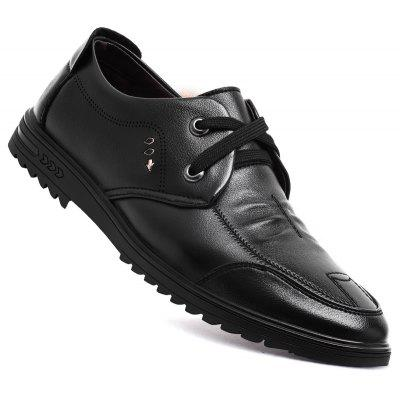 Men New Design High Quality Genuine Leather Classic Business Fashion Ankle Shoes