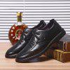 Men New Design High Quality Genuine Leather Classic Business Fashion Ankle Shoes - BLACK