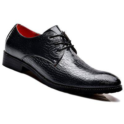 Business Leather Gentle Wedding Dress  Official  Casual British Shoes