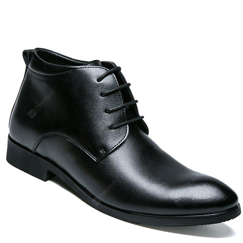 Business Warm Leather Gentle Lace Up  Shoes Official Casual British