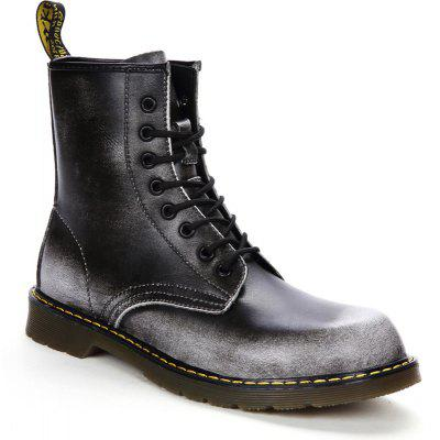 Business Leather Boots Gentle Outdoor  Official Casual British Shoes