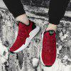 Men Casual Shoes Running Male Fashion Sport Walking Athleitic Sneakers - RED