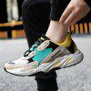 Fashion Warm Women Running Lace Up Sport Outdoor Jogging Walking Athletic Sneakers - GREEN