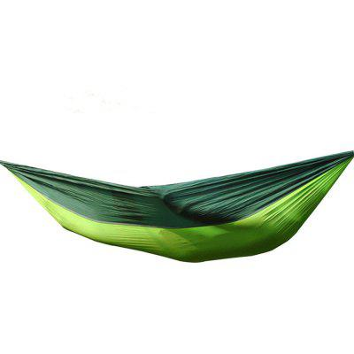 Portable Outdoor Camping Hiking Garden Recreation Double Hammock