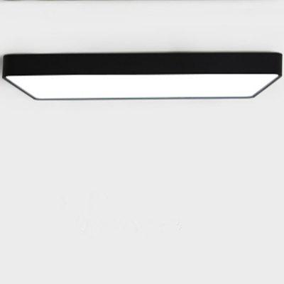 Rectángulo Ultra Thin Ceiling Light Lamp Tricromatic Lights