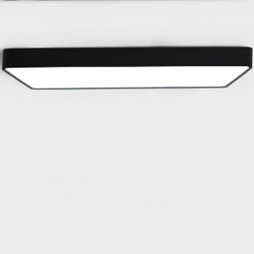 Rechteck Ultra Thin Deckenleuchte Lampe Trichromatic Lights