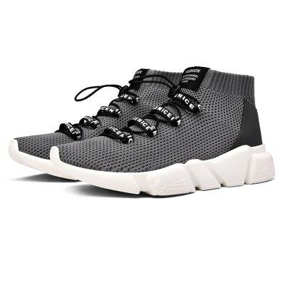 Breathable Mesh Elastic Band Running Shoes for Men Low Light Sports Shoes Cushioning SneakersMen's Sneakers<br>Breathable Mesh Elastic Band Running Shoes for Men Low Light Sports Shoes Cushioning Sneakers<br><br>Available Size: 39-44<br>Closure Type: Elastic band<br>Feature: Breathable<br>Gender: For Men<br>Insole Material: EVA<br>Lining Material: Cotton Fabric<br>Outsole Material: PU<br>Package Contents: 1xshoes?pair?<br>Pattern Type: Solid<br>Season: Spring/Fall<br>Shoe Width: Medium(B/M)<br>Upper Material: Microfiber, 3D air mesh<br>Weight: 0.9520kg