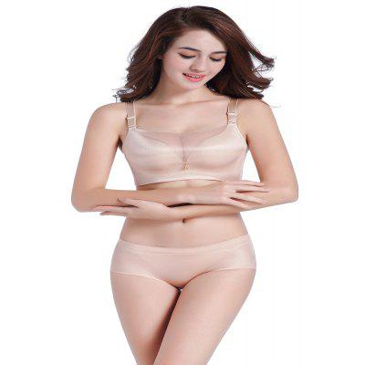 No Trace of Pure All-Match Underwear Bra Set Without Rim