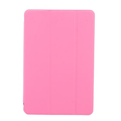 For iPad 9.7 2017 Case A1822 A1823  PU Leather  + Silicone Soft Back Smart Cover Case