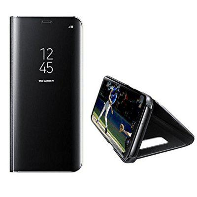 Mirror Flip Leather Case Clear View Window Smart Cover for Samsung Galaxy S7